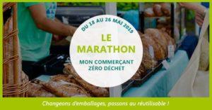 Marathon commerçants zéro déchet