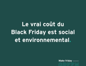Black Friday,  Zero Waste Lille n'y participera pas
