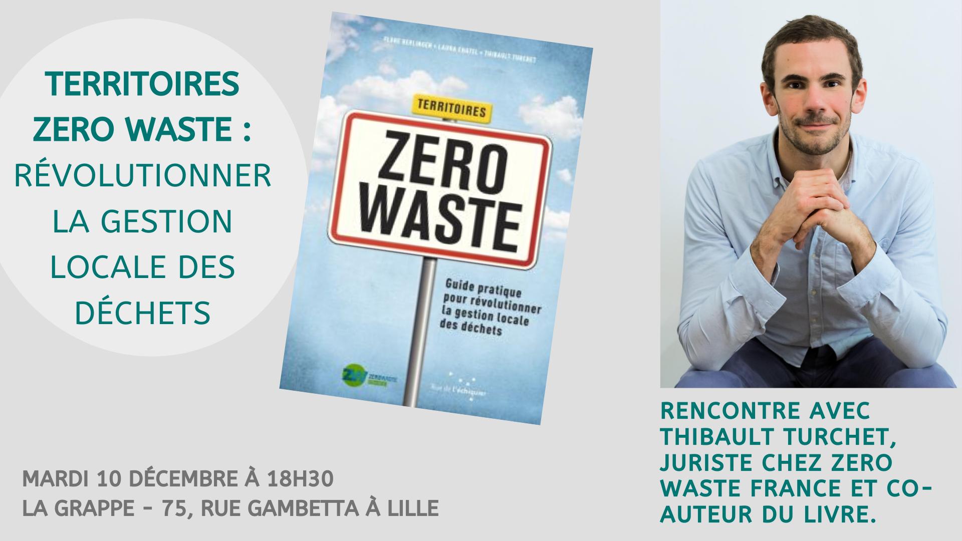 Territoires Zero Waste - Formation citoyenne avec T. Turchet