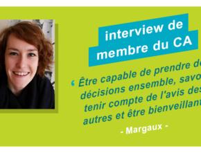 Interview de membre du CA : Margaux